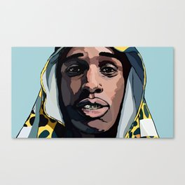 ASAP ROCKY---ARTWORK Canvas Print