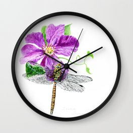 A Moment In Time by Teresa Thompson Wall Clock