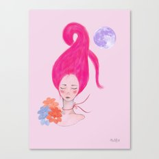 Miss Pink Canvas Print