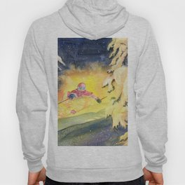 Skiing Art Hoody