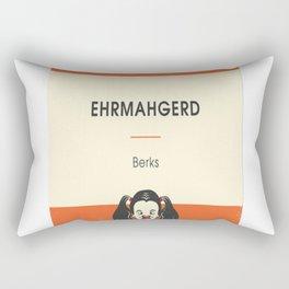 Ehrmahgerd! Perngern Berks! Rectangular Pillow