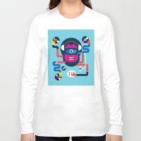 dj Long Sleeve T-shirts featuring DJ by Katboy 7