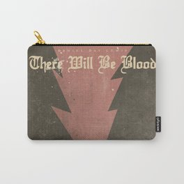 There will be blood, alternative movie poster, Daniel Day Lewis, Paul Thomas Anderson, Paul Dano Carry-All Pouch