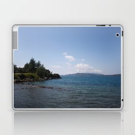 Turquoise Sea and Blue Skies of Hisaronu, Bozburun Laptop & iPad Skin