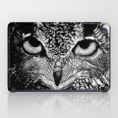 My Eyes Have Seen You (Owl) iPad Case