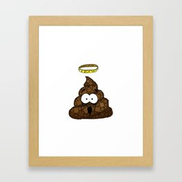 Holy Crap! - Bathroom Humor - Poop - 57 Montgomery Ave Framed Art Print