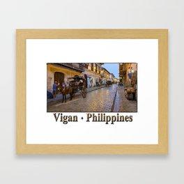 Vigan : Philippines Framed Art Print