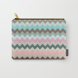 Pastel Chevron Carry-All Pouch