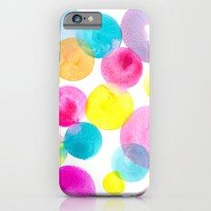 Confetti paint iPhone 6s Slim Case