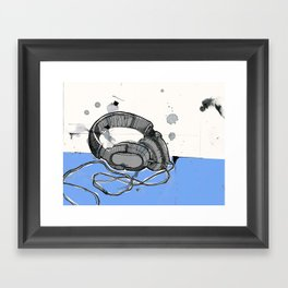 Listen Up Framed Art Print