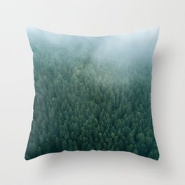 Stay Woke - Landscape Photography Throw Pillow