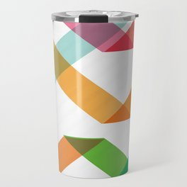 Colorful lines Travel Mug