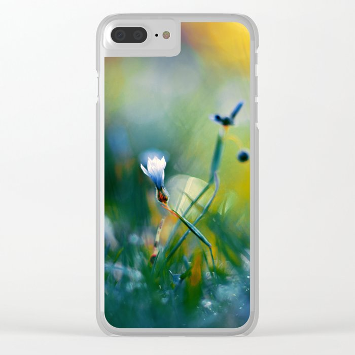 On a Sunny Field Clear iPhone Case