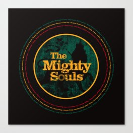 The Mighty Souls: Reggae Legends Canvas Print