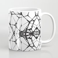dna Mugs featuring DNA by kartalpaf