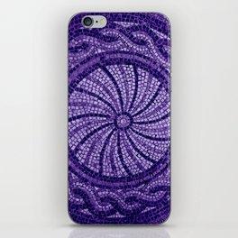 Ultra Violet Stone Tiles 18-3838 iPhone Skin