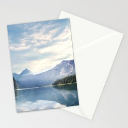 Wanderlust - Mountains, Lake, Forest Stationery Cards