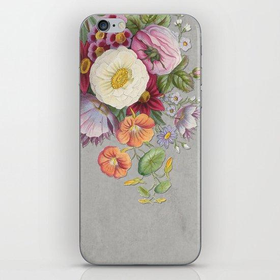 Hanna Floral iPhone & iPod Skin
