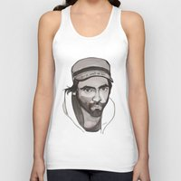 patrick Tank Tops featuring Patrick Watson by Icillustration