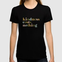 Kindness Costs Nothing - Retro T-shirt