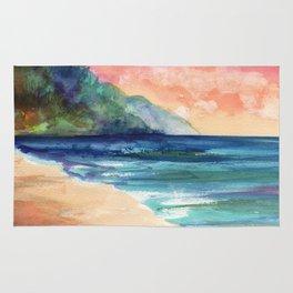 Ke'e Beach Rug