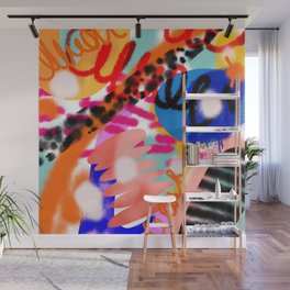 Grell 002 / A Composition Of Abstract Graffiti Shapes Wall Mural