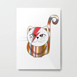 MIMI STARDUST Metal Print