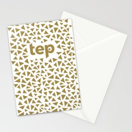 Tep Triangles Stationery Cards