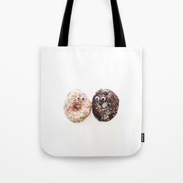 Donut Conversation Food Photography Tote Bag