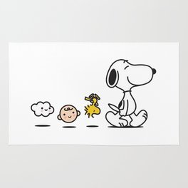 Snoopy and Friend Rug