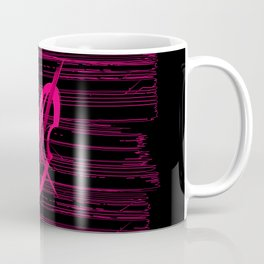 Pink Cello Vibe Coffee Mug