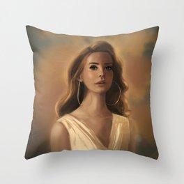 Godess Throw Pillow