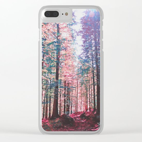 Candy forest Clear iPhone Case