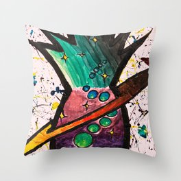 Jovian Pineapple Throw Pillow