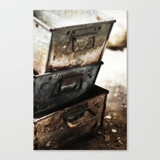 Boxes Canvas Print