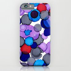 Blue Colour splash Slim Case iPhone 6s