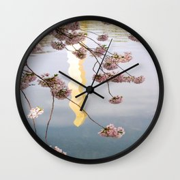 Washington Monument- DC Wall Clock