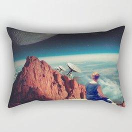 Those Evenings Rectangular Pillow