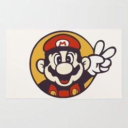 Mario Peace Rug