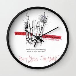 "Biffy Clyro - ""on a bang"" Wall Clock"