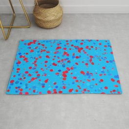 Geometric Abstract Colorful Art Retro Pattern Rug