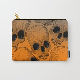 Multitude of Skulls Carry-All Pouch