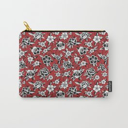 Sunset  in the Rose Garden Carry-All Pouch