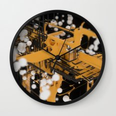 Data Network Wall Clock