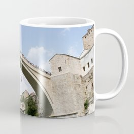 Mostar Bridge Jumper Coffee Mug
