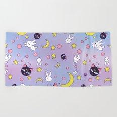 Chibiusa's Pattern Beach Towel