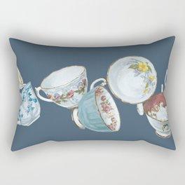 Dancing Queens in Navy Rectangular Pillow