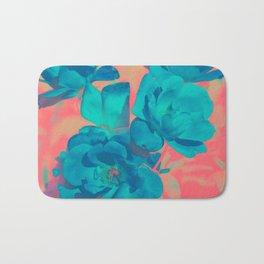 The Blue Rose Bath Mat