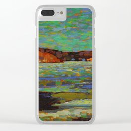 Tom Thomson Ice Reflections, Spring 1916 Canadian Landscape Artist Clear iPhone Case