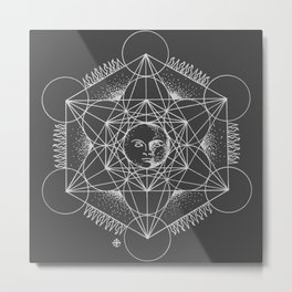 Gnostic Shadow Metal Print